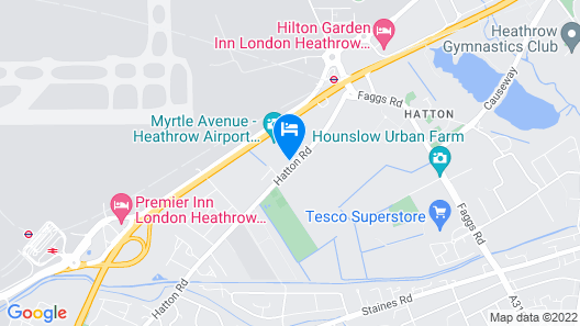 The Hatton Rooms Map