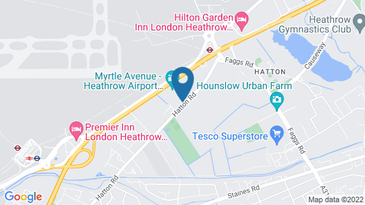 The Hatton Apartments Map