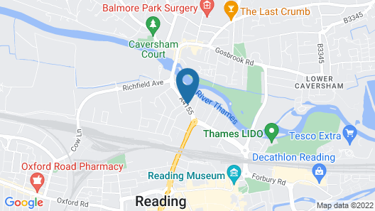 easyHotel Reading Map