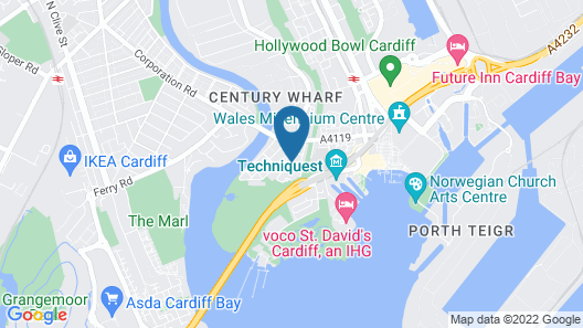 iRelocate - Cardiff Bay Map