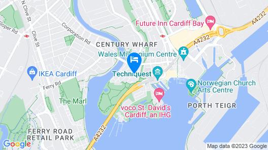 iRelocate - Cardiff Bay Map