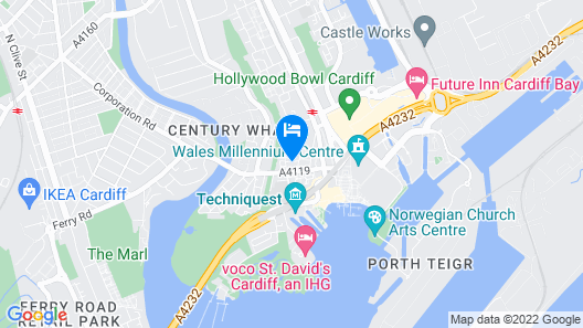 The Exchange Hotel Map