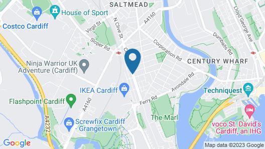 Ty Rosa - Bed & Breakfast Map