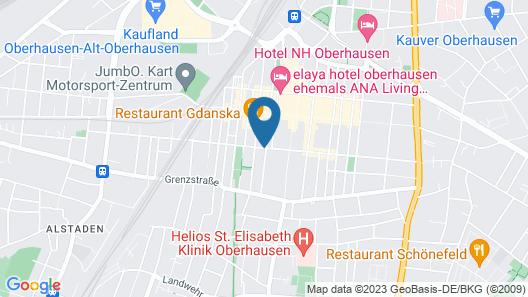 Hotel Residenz Oberhausen Map