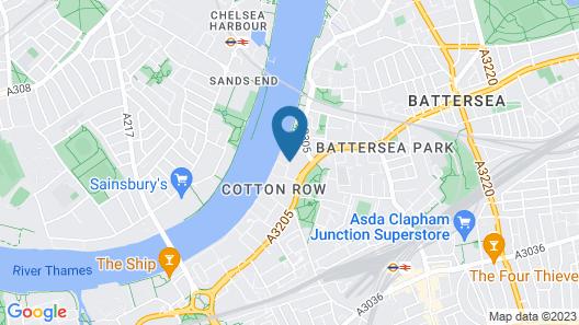 Crowne Plaza London - Battersea Map
