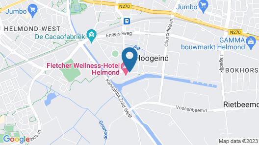 Fletcher Wellness-Hotel Helmond Map