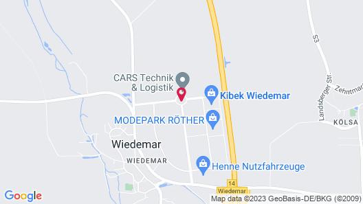 H&S Hotel Belmondo Leipzig-Airport Map
