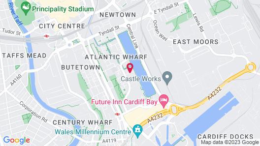 Holiday Inn Express Cardiff Bay Map