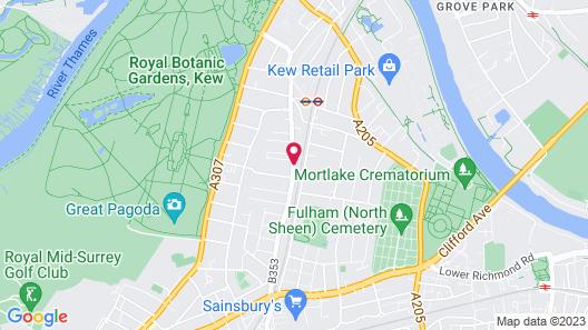 Kew Rooms Map