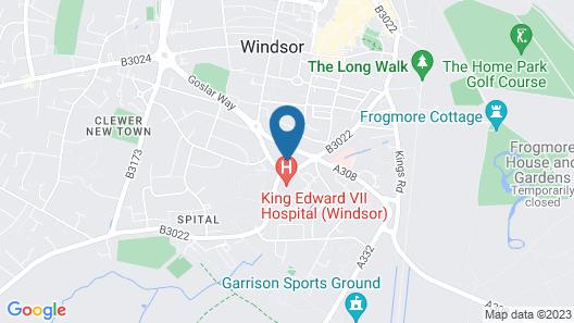 King Edward Apartments Map