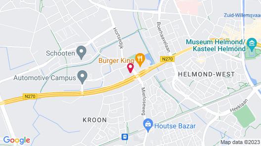 Villa Helmond Map