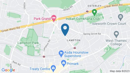 Heathrow Stay Map