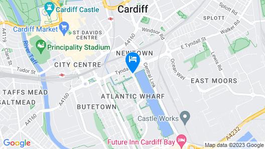 Novotel Cardiff Centre Map