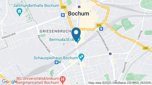 Art Hotel Tucholsky Map