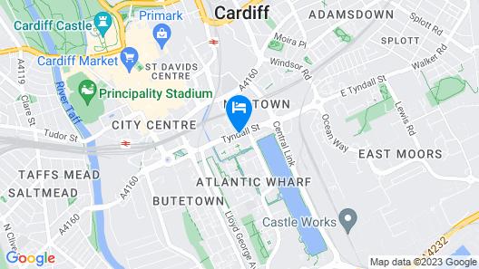 ibis budget Cardiff Centre Map