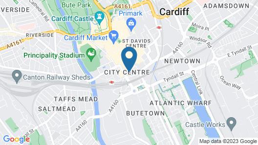 Cardiff Marriott Hotel Map