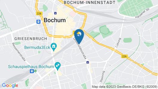 ibis Bochum Zentrum Map