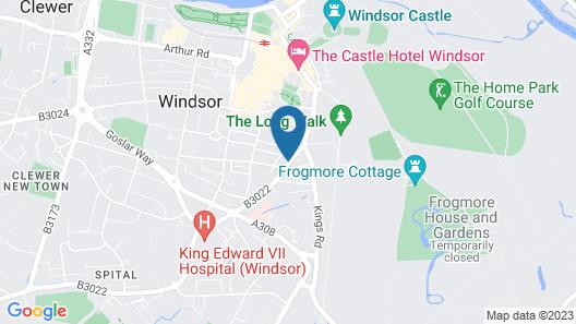 Hampden Apartments - the Diana Map