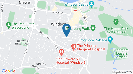 Spacious Apartment In The Heart Of Windsor Map