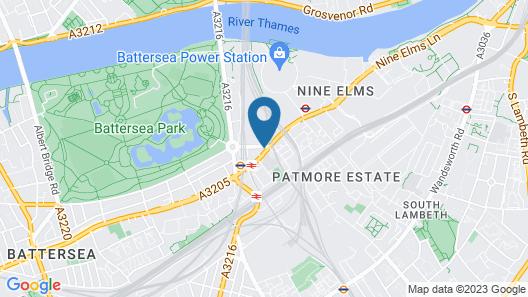 Chelsea Bridge Apartments Map