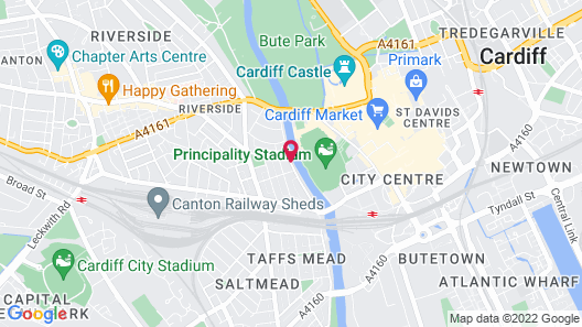 Aaron Wise Serviced Apartments Map