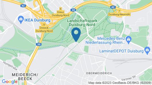 Jugendherberge Duisburg Landschaftspark - Hostel Map