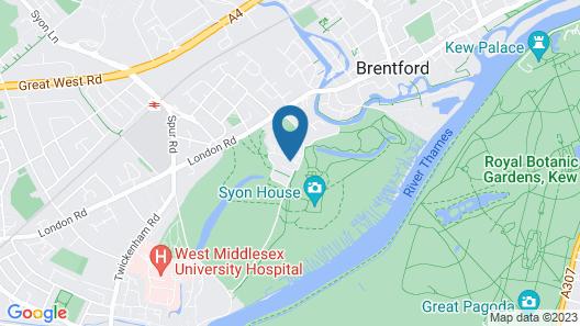 Hilton London Syon Park Map