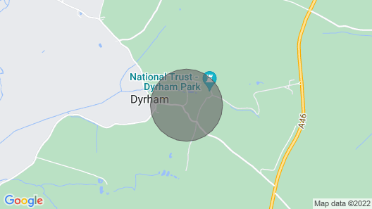 Self-contained Private Cottage With Gardens at Dyrham Park, 8 Miles From Bath Map