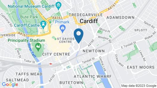 ibis Cardiff Map
