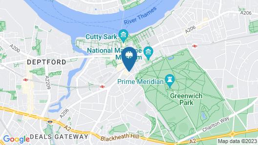 ibis London Greenwich Map