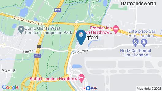 Heathrow Lodge Map