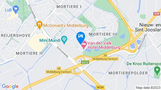 Van der Valk Hotel Middelburg Map