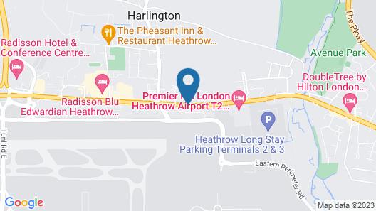 ibis London Heathrow Airport Map