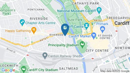 Inn Cardiff Map