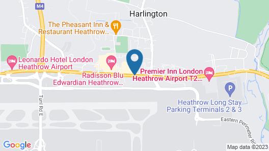 Sheraton Skyline Hotel London Heathrow Map