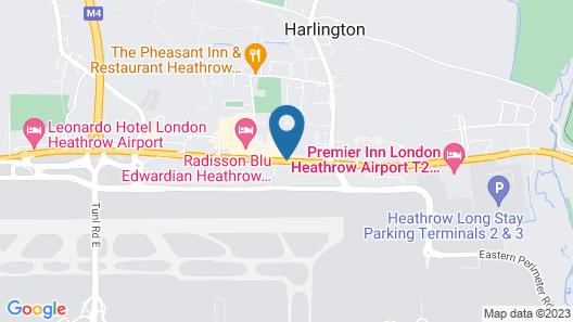 London Heathrow Marriott Hotel Map