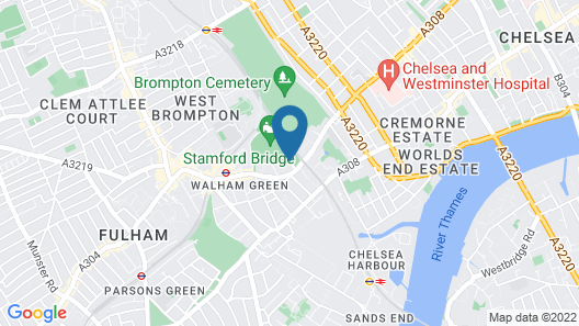 Millennium & Copthorne Hotels at Chelsea Football Club Map