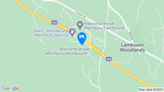 Days Inn by Wyndham Membury M4 Map