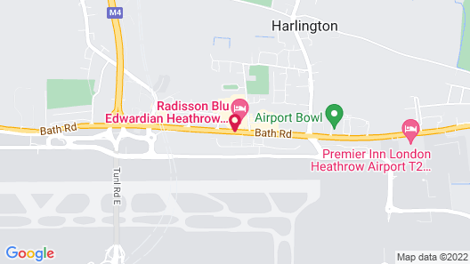 Radisson Blu Edwardian Heathrow Hotel & Conference Centre, London Map