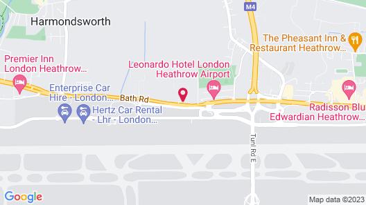 Holiday Inn London Heathrow - Bath Road Map