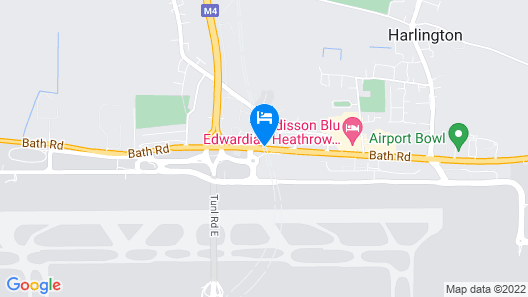 Ibis Styles London Heathrow Map