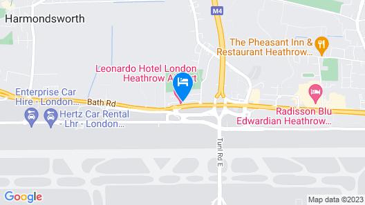 Leonardo London Heathrow Airport Map