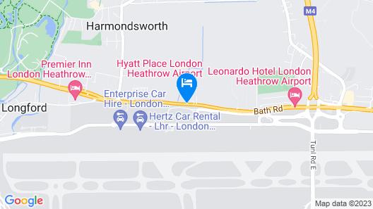 Hyatt Place London Heathrow Airport Map