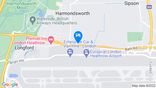 The Great Airport Place Map