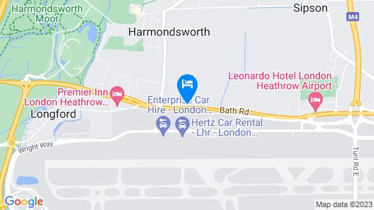 Grand Airport Ensuites Map