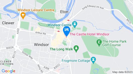 Castle Hotel Windsor - MGallery Map