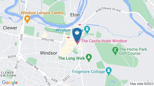 Macdonald Windsor Hotel Map
