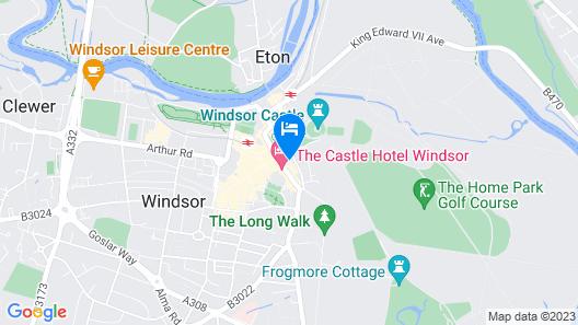 Windsor Castle Townhouse Map