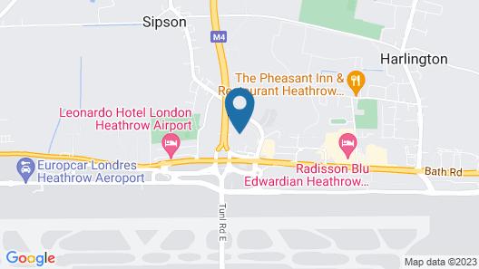 Radisson Hotel & Conference Centre London Heathrow Map