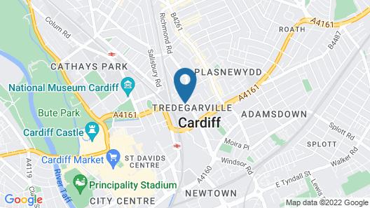 Willow Serviced Apartments - The Walk 2 Map